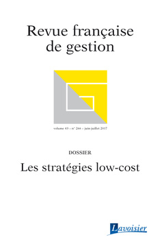 Couverture de l'ouvrage Revue française de gestion Volume 43 N° 266/Juin-Juillet 2017