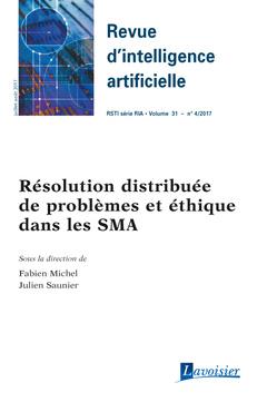 Couverture de l'ouvrage Revue d'intelligence artificielle RSTI série RIA Volume 31 N° 4/Juillet-Août 2017