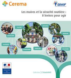 Couverture de l'ouvrage Les maires et la sécurité routière : 8 leviers pour agir