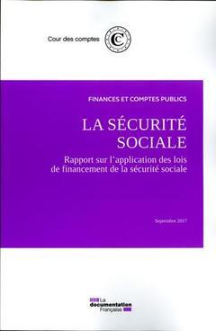 Couverture de l'ouvrage La sécurité sociale