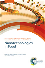 Couverture de l'ouvrage Nanotechnologies in Food