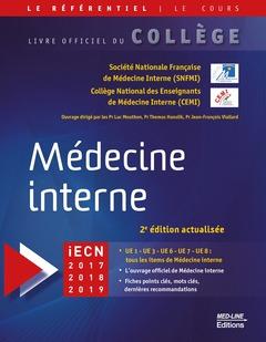 Couverture de l'ouvrage Médecine interne (2° Éd. actualisée)