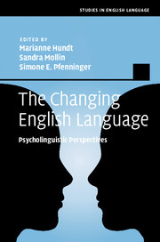 Cover of the book The Changing English Language