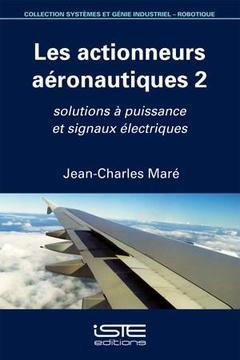 Couverture de l'ouvrage Les actionneurs aéronautiques