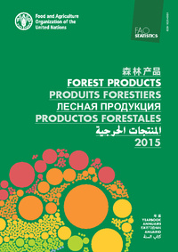 Couverture de l'ouvrage FAO Yearbook of Forest Products 2015