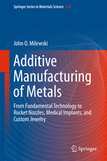 Cover of the book Additive Manufacturing of Metals