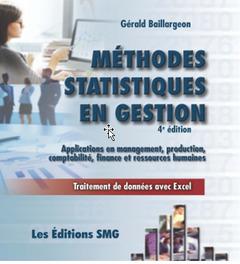 Couverture de l'ouvrage Méthodes statistiques en gestion