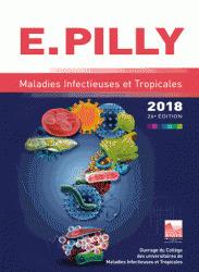 Couverture de l'ouvrage E. Pilly 2018 - Maladies infectieuses et Tropicales