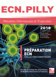 Couverture de l'ouvrage ECN.PILLY 2018 - Maladies infectieuses et tropicales (5° Ed.)