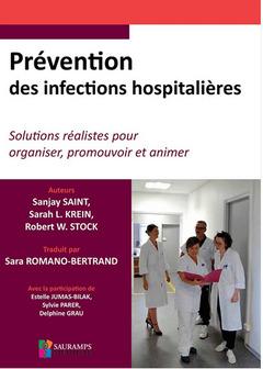 Couverture de l'ouvrage Prévention des infections hospitalières