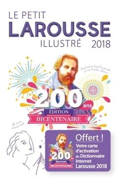 Couverture de l'ouvrage Le petit Larousse illustré 2018