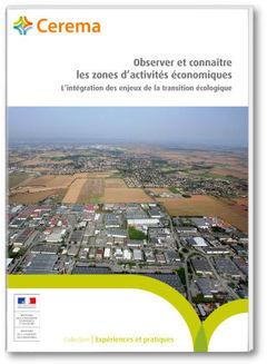 Couverture de l'ouvrage Observer et connaître les zones d'activités économiques