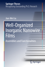 Cover of the book Well-Organized Inorganic Nanowire Films