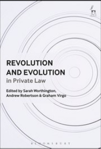 Cover of the book Revolution and Evolution in Private Law
