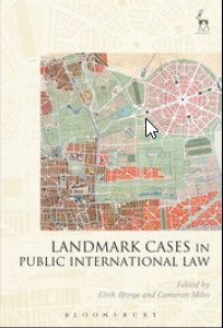 Cover of the book Landmark Cases in Public International Law