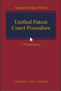 Cover of the book Unified Patent Court Procedure