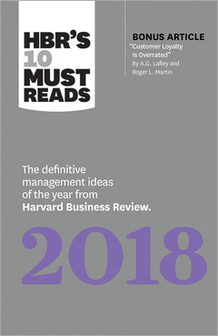 Cover of the book HBR's 10 Must Reads 2018