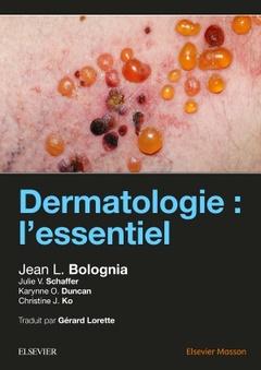 Couverture de l'ouvrage Dermatologie : l'essentiel
