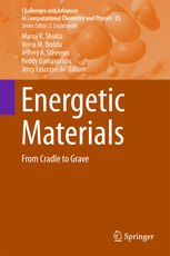 Cover of the book Energetic Materials