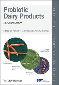 Couverture de l'ouvrage Probiotic Dairy Products