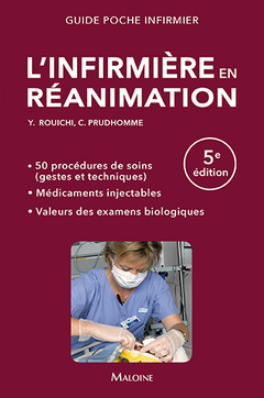 Cover of the book L'infirmière en réanimation