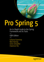 Cover of the book Pro Spring 5