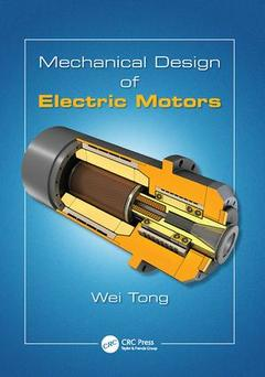 Cover of the book Mechanical Design of Electric Motors