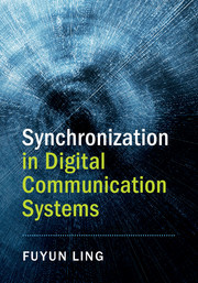 Cover of the book Synchronization in Digital Communication Systems