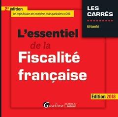 Couverture de l'ouvrage L'essentiel de la fiscalité française