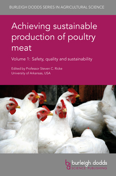 Cover of the book Achieving sustainable production of poultry meat