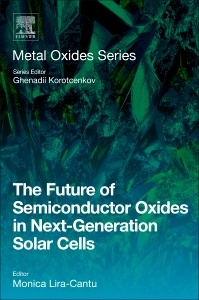 Couverture de l'ouvrage The Future of Semiconductor Oxides in Next-Generation Solar Cells