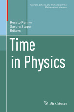 Cover of the book Time in Physics