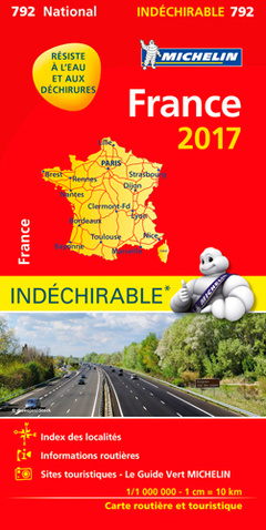 Couverture de l'ouvrage Carte France 2017