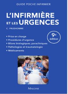 Couverture de l'ouvrage L'infirmière et les urgences
