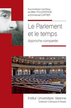 Couverture de l'ouvrage Le parlement et le temps