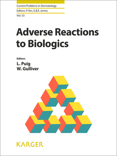 Cover of the book Adverse Reactions to Biologics