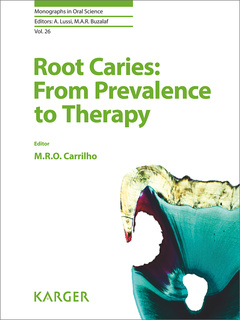 Couverture de l'ouvrage Root Caries: From Prevalence to Therapy