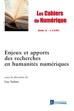 Couverture de l'ouvrage Les cahiers du numérique Volume 13 N° 3-4/Juillet-Décembre 2017
