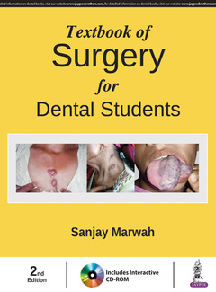 Couverture de l'ouvrage Textbook of Surgery for Dental Students