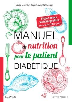 Couverture de l'ouvrage Manuel de nutrition pour le patient diabétique