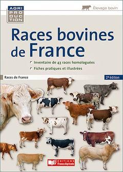 Couverture de l'ouvrage Races bovines de france