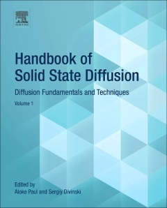 Couverture de l'ouvrage Handbook of Solid State Diffusion