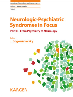 Cover of the book Neurologic-Psychiatric Syndromes in Focus