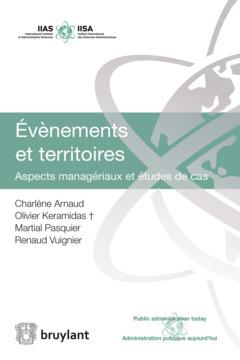 Couverture de l'ouvrage Evènements et territoires