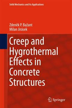 Cover of the book Creep and Hygrothermal Effects in Concrete Structures