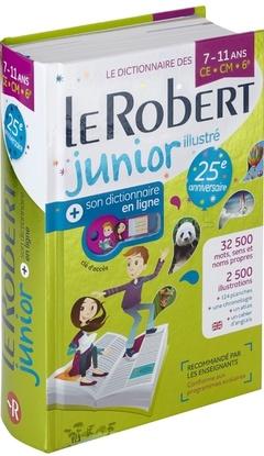 Couverture de l'ouvrage Le Robert Junior illustré et son dictionnaire en ligne