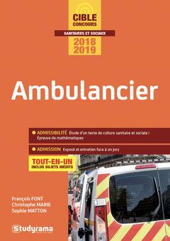 Couverture de l'ouvrage Ambulancier
