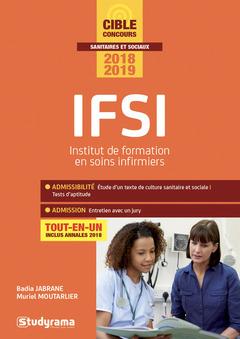 Couverture de l'ouvrage IFSI - Concours 2018-2019