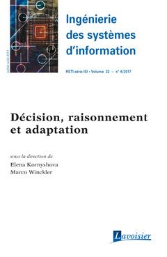 Couverture de l'ouvrage Décision, raisonnement et adaptation