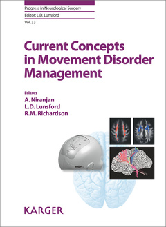 Couverture de l'ouvrage Current Concepts in Movement Disorder Management